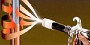 Принцип электростатической окраски