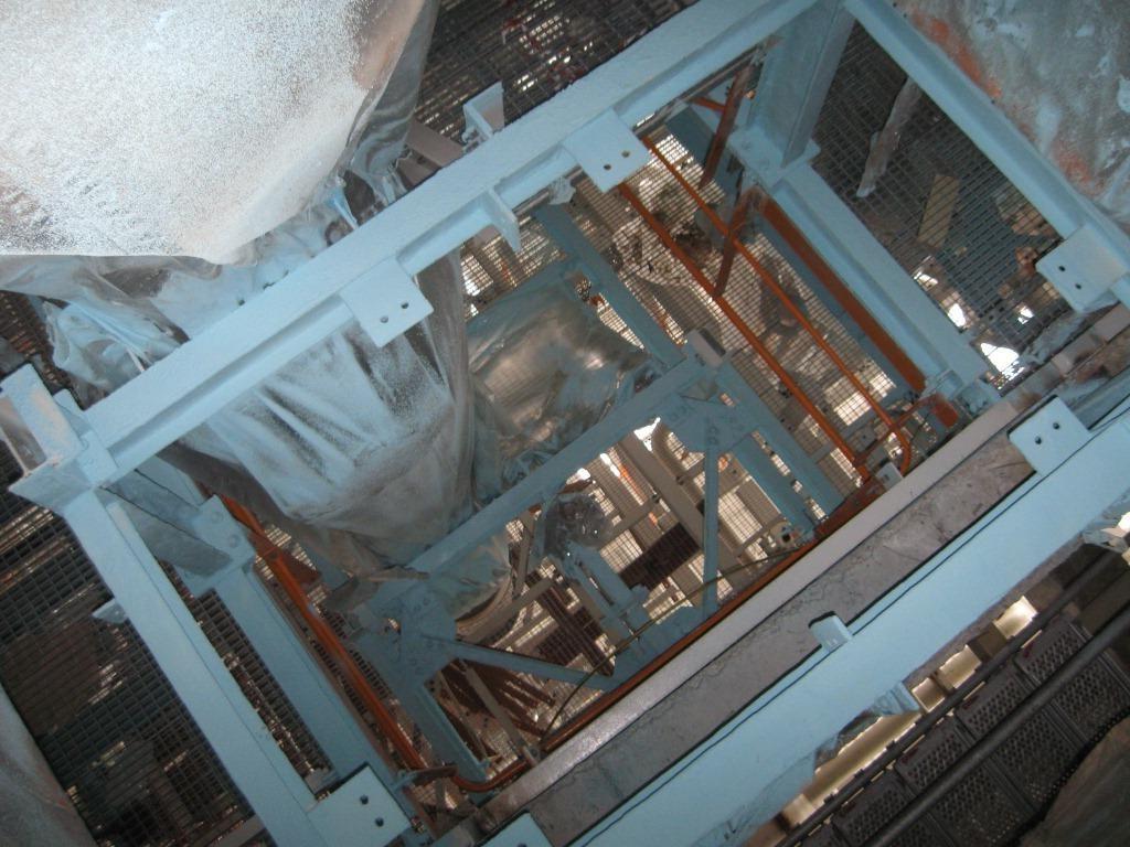 Русвинил. г.Кстово. Огнезащита металлоконструкций Firetex M90