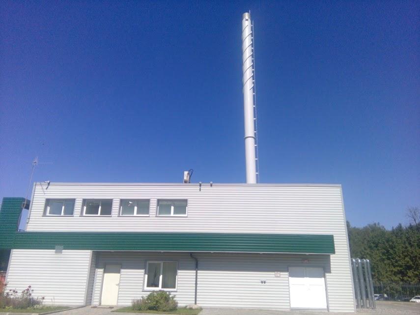 Антикоррозийная защита дымовой трубы котельной ЗАО Бумеранг