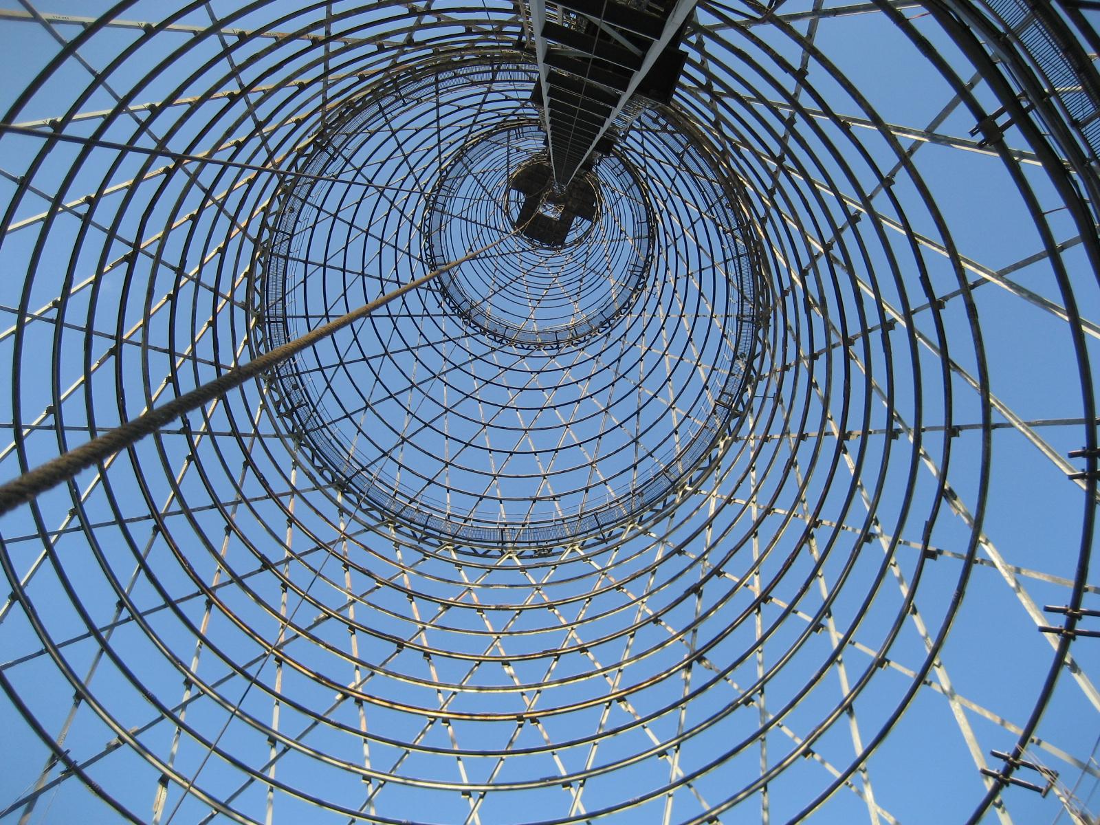 Обследование Шуховской башни г.Москва